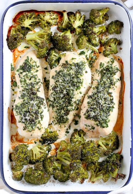 One-Pan-Parmesan-Crusted-Chicken-with-Broccoli-1