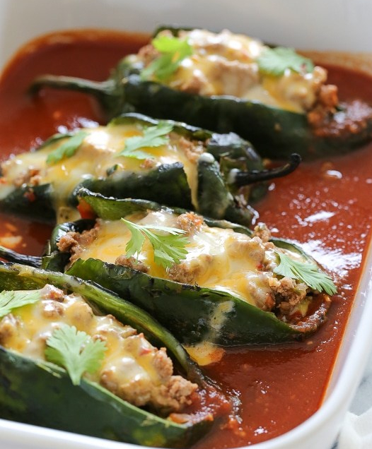 Turkey-Enchilada-Stuffed-Poblanos-Rellenos-1-7